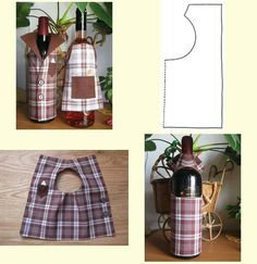 1 million+ Stunning Free Images to Use Anywhere Wine Bottle Covers, Glass Bottle Crafts, Wine Signs, Wine Craft, Craft Markets, Bottle Bag, Sewing Projects, Diy Crafts, Felt Crafts