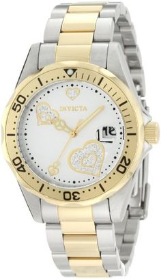 Invicta Women's 12287 Pro Diver Silver Heart Dial Two Tone Stainless Steel Watch Invicta,http://www.amazon.com/dp/B0074FUHJS/ref=cm_sw_r_pi_dp_TBVcsb0FBDASJF4G