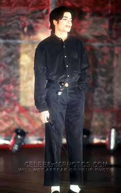 All black attire