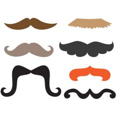 Photo Booth Props   Mustaches - Free Printable!