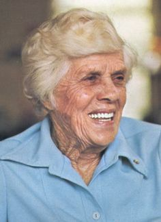 """Miss Lillian"" Carter (1898 - 1983) Mother of former US president Jimmy Carter, former Peace Corps Volunteer"