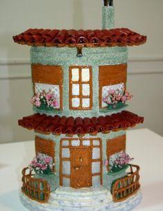 Resultado de imagen para manualidades en tejas tejas - Tejas pequenas decoradas ...
