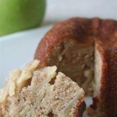 Pastel de manzana con canela @ allrecipes.com.mx