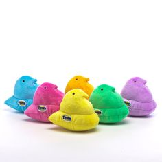Snuggle up with PEEPS® Plush! Tons of shapes, styles & colors are available on our e-store, all year round! #Peeps #Easter