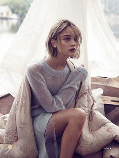 #tejerescool #soywoolly the artist's muse: marie claire australia may 2014