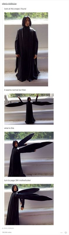 27 harry potter memes that are straight enchanting Mundo Harry Potter, Harry Potter Puns, Harry Potter Universal, Severus Rogue, Severus Snape, Hogwarts, Harry Potter Tumblr Posts, Yer A Wizard Harry, Fans