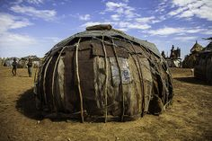 traditional hut in the village tribe Dassanech, Ethiopia   Flickr - Photo Sharing!