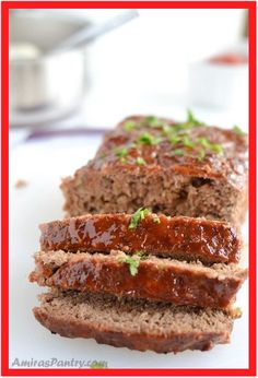 How to make a hearty moist meatloaf with a delicious glaze crown. The best easy meatloaf recipe comes out juicy every time. A classic meatloaf recipe with breadcrumbs comes to you with lots of tips and trick to make it extra tasty, yet easy to. Meatloaf Recipe With Panko Bread Crumbs, Gourmet Meatloaf Recipe, Meatloaf Recipe Without Ketchup, Moist Meatloaf Recipes, Best Easy Meatloaf Recipe, Meatloaf Ingredients, How To Make Meatloaf, Classic Meatloaf Recipe, Meat Loaf Recipe Easy