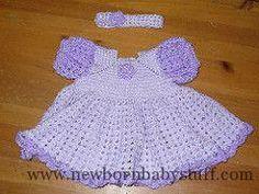 Crochet Baby Dress Free Crochet Baby Dresses Patterns