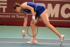 Magdalena Rybarikova at the GDF Suez Open in Paris #WTA #Rybarikova #GDFSuezOpen