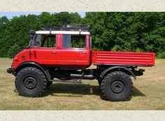 1975 Doka Unimog Rebuilt with Upgrades