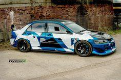 Monsterous Evo 8 Race car camo wrap | 100% Racecar, no messi… | Flickr