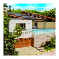 This two-story modern house in Playa del Carmen is on the market for $2490000…