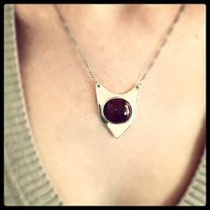 New Listing...Stunning Modernist Rare Red Tiger Eye by glamrox, $125.00
