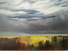 'A New Day' 90cm x 120cm    Oil on canvas Barbara Becker