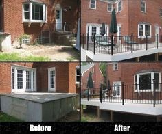 #LongFence, | Before & After | #Deck
