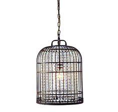 Gen-Lite Les Folies Bird Cage Ceiling Fixture