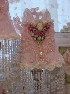 Lace Cameo Shade.  So Pretty!!