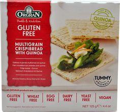 Orgran Super Grains Crispibread with Quinoa Gluten Free $3.09 Vitacost