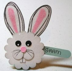 Happy Easter everyone! I wanted to get this post done last night so you would all receive it in your inbox on Easter, but my hubby and I stayed later at a wedding reception than we ever thought we would. Placecard Ideas, Happy Easter Everyone, Punch Art, Easter Ideas, Wedding Reception, Crafts For Kids, Favors, Place Cards, Parties