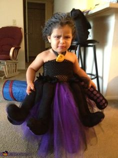 Homemade ursula costume all done in one night ursula costumes ursula the witch halloween costume contest at costume works solutioingenieria Image collections