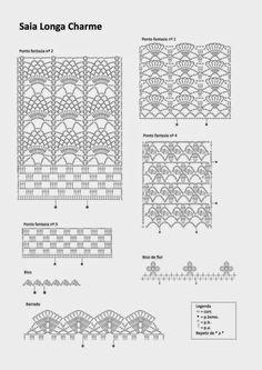 Crochetemoda: Saias