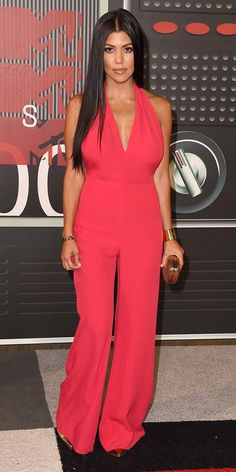2015 Video Music Awards Red Carpet - Kourtney Kardashian from InStyle.com