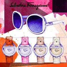 Illustration by Gildo Medina for Ferragamo Buckle. Explore buckle.ferraagmo.com