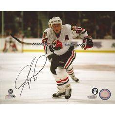 Jeremy Roenick Autographed 8X10 Photo - $49