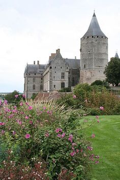 The Castle in Chateaudun, France #www.frenchriviera.com