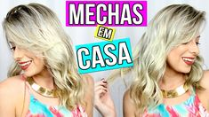 MECHAS ESFUMADAS EM CASA - RETOQUE DE RAIZ | Amanda Domenico