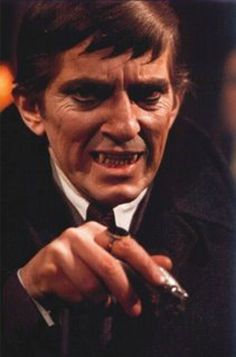 Barnabas from Dark Shadow.  I used to have nightmares after watching this, but I still wanted to watch it!