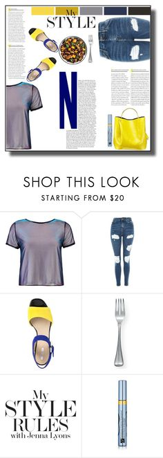 """""""My Style"""" by veronicawantscurves ❤ liked on Polyvore featuring Boohoo, Topshop, Geox, Buccellati and Estée Lauder"""