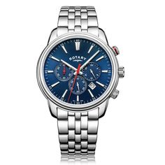 #rotarywatches #monaco Gents Watches, Sport Watches, Cool Watches, Watches For Men, Metal Bracelets, Link Bracelets, Rotary Watches, Stainless Steel Watch, Watch Brands