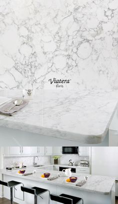 statuario bianco by polarstone electric veining of gray marble look. Black Bedroom Furniture Sets. Home Design Ideas