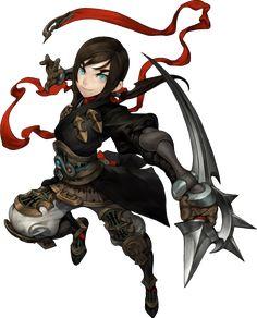 ✧ #characterconcepts ✧ Assassin - Dragon Nest SEA