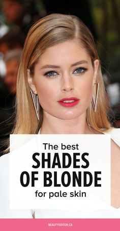 The Best Shades of Blonde for Pale Skin | Beautyeditor