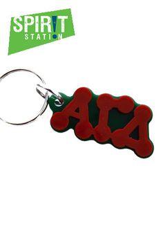 Alpha Gamma Delta Bubble Keychain-On sale this week! (1/20-1/26/13)