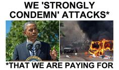 As Egypt burns... Live from the 18th hole in Martha;s Vineyard....  Obama 'Strongly condemn' attacks*  * That we are paying for.