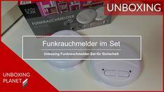 Video mit Unboxing eines Funkrauchmelder im 2er-Set #unboxing #funkrauchmelder #2erset #video