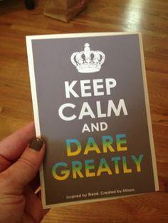 Daring Greatly- Brene Brown- 5 star book