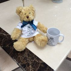 Braden Bears and mugs arrived in time for The British Book Affair (London). Yay! #KeepCalmAndKissBraden