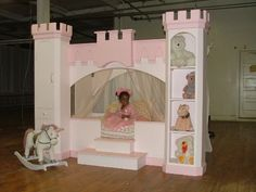Amaya 39 s bedroom on pinterest princess room castle bed for How to build a castle bed