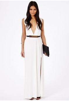 Rebella Belted Maxi Dress - Dresses - Missguided  WANT SO BAD!