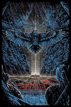 """Blade Runner"" by Kilian Eng from ""Moments Lost"" (via Inside the Rock Poster Frame)"