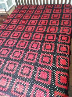 Colcha solteiro em lã, Gustavo (Flamengo)