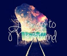 If there is one place I would love to travel, that would be Neverland. :)