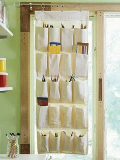 Great storage idea when space is limited