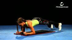 تمرين شد البطن رفع الجسم اللوحي Plank Ab Workout Men Abs Workout Mens Fitness