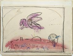 "Study to ""Song of Songs IV"" by @artistchagall #surrealism"